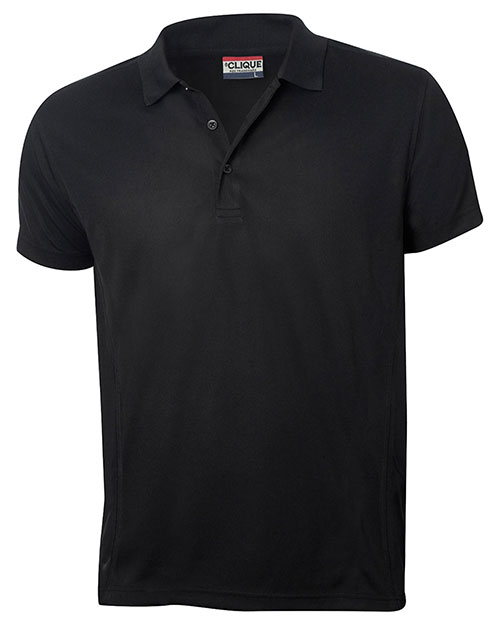 Clique New Wave MQK00023 Men Short-Sleeve Knit Polo Shirt at GotApparel