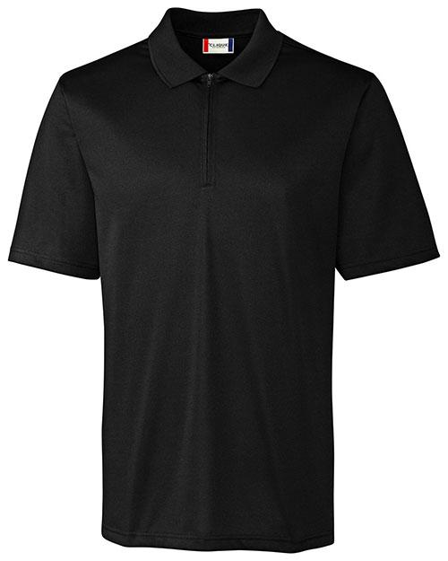 Clique New Wave MQK00065 Men Malmo Snag-Proof Zip Polo Shirt at GotApparel