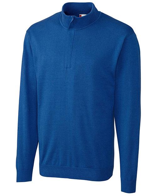 Clique New Wave MQS00001 Men Imatra Half-Zip Sweater at GotApparel