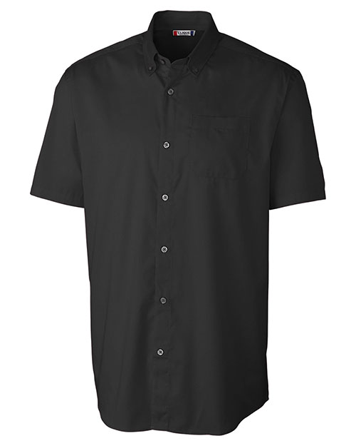 Clique New Wave MQW00004 Men Short-Sleeve Avesta Stain-Resistant Twill at GotApparel