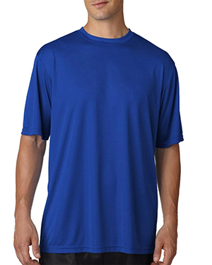 A4 N3249 Men Combed Ringspun Short-Sleeve Tee at GotApparel