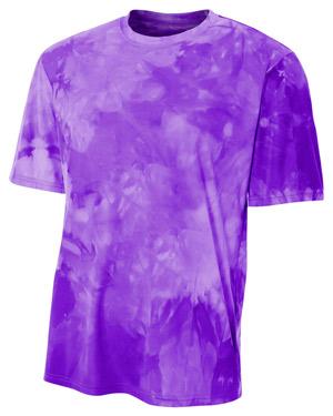 A4 N3295 Men Cloud Dye T-Shirt at GotApparel