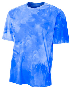 A4 NB3295 Boys Cloud Dye Tech Tee at GotApparel