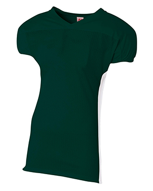 A4 NB4205 Boys Titan 4-Way Stretch Football Jersey at GotApparel