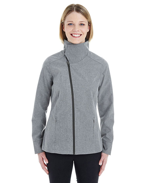 Ash City NE705W Women Edge Soft Shell Jacket With Convertible Collar at GotApparel