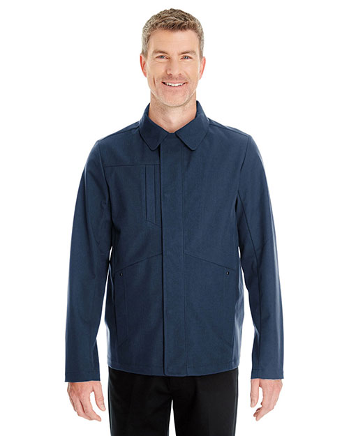 Ash City NE705 Men Edge Soft Shell Jacket With Fold-Down Collar at GotApparel