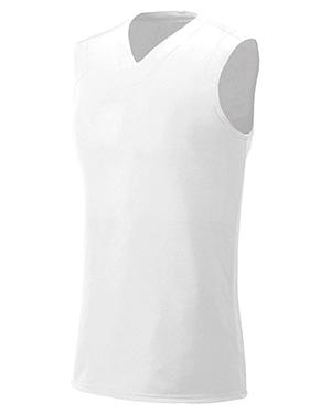 A4 Drop Ship NW2340 Women Moisture Management V-Neck Muscle Shirt at GotApparel