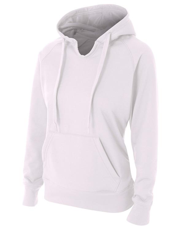 A4 NW4245 Women Tech Fleece Hoodie at GotApparel