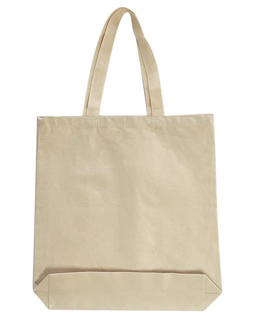 OAD OAD106 Medium 12 oz Gusseted Tote at GotApparel