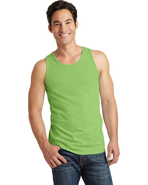 Port & Company PC099TT Adult Essential Pigment-Dyed Tank Top at GotApparel