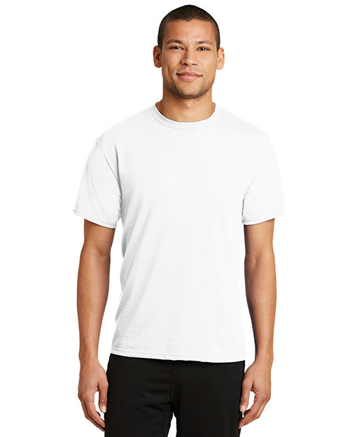 Port & Company PC381 Adult Essential Blended Performance Tee at GotApparel