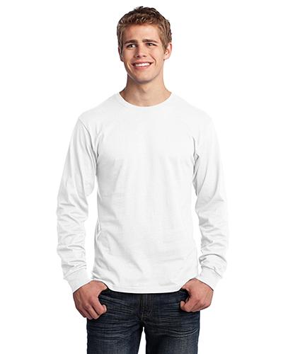 Port & Company PC54LS Men Long-Sleeve 5.4 Oz 100% Cotton T-Shirt at GotApparel
