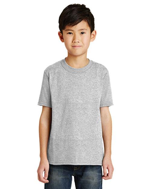 Port & Company PC55Y Boys 50/50 Cotton/Poly T-Shirt at GotApparel