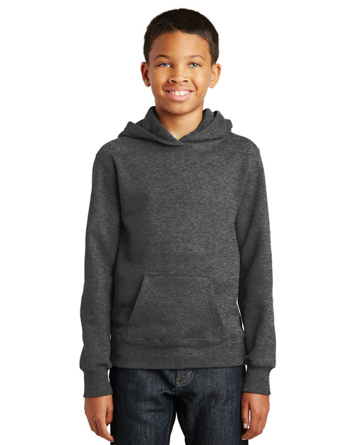 Port & Company PC850YH Youth Fan Favorite Fleece Pullover Hooded Sweatshirt at GotApparel