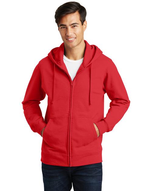 Port & Company PC850ZH Men   Fan Favorite Fleece Full-Zip Hooded Sweatshirt at GotApparel