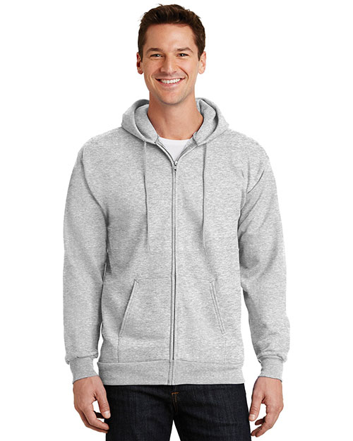Port & Company PC90ZH Men Ultimate Full-Zip Hooded Sweatshirt at GotApparel