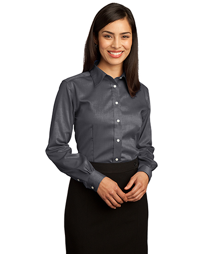 Red House RH25 Women Non-Iron Pinpoint Oxford at GotApparel