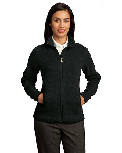 Red House RH55 Women Sweater Fleece Full-Zip Jacket at GotApparel