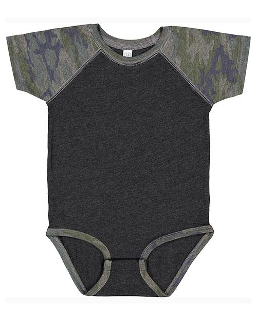 Rabbit Skins RS4430 Infant 4.5 oz Baseball Bodysuit at GotApparel