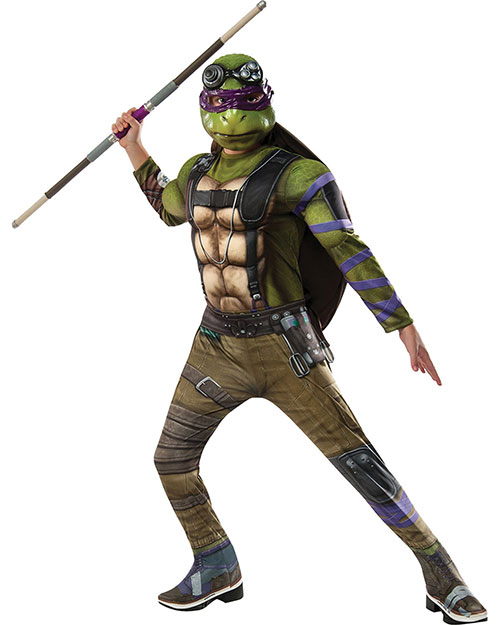 Halloween Costumes RU620821MD Boys Tmnt2 Dlx Donatello Child Med at GotApparel