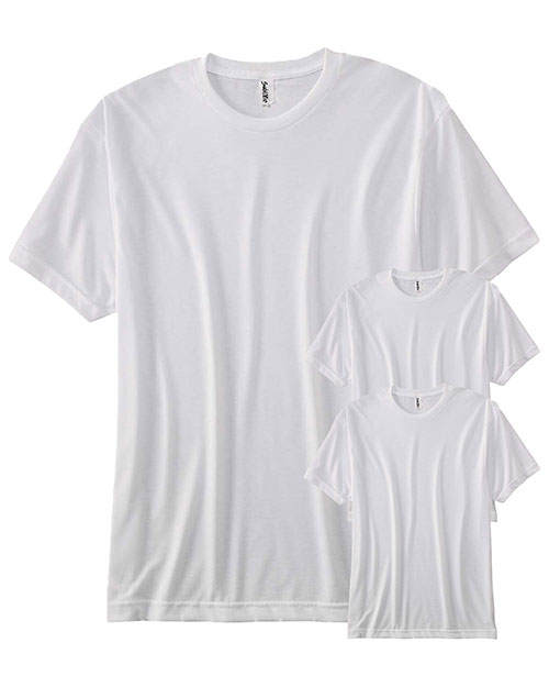 Sublivie S1910 Men Polyester T-Shirt 3-Pack at GotApparel
