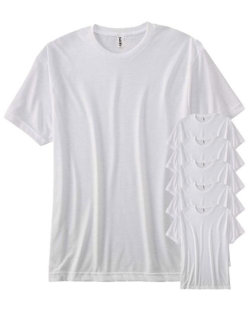 Sublivie S1910 Men Polyester T-Shirt 6-Pack at GotApparel
