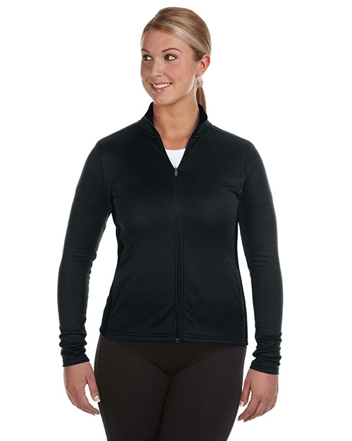 Custom Embroidered Champion S260 Women Performance 5.4 Oz. Colorblock Full-Zip Jacket at GotApparel