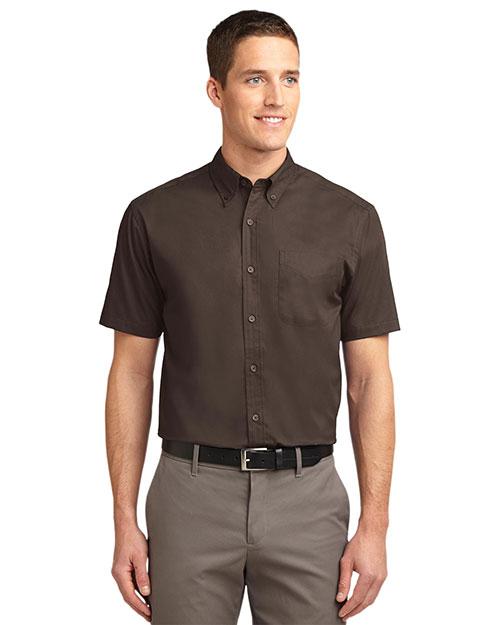 Port Authority S508 Men Short-Sleeve Easy Care Shirt at GotApparel