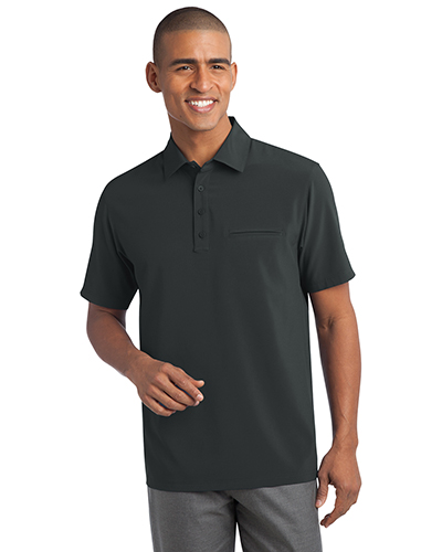 Port Authority S650 Men Ultra Stretch Pocket Polo at GotApparel