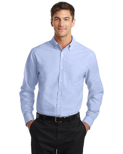 Port Authority S658 Men Superpro   Oxford Shirt at GotApparel