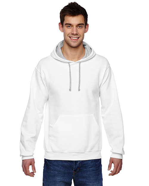 Fruit of the Loom SF76R Adult 7.2 oz. Sofspun Hooded Sweatshirt at GotApparel