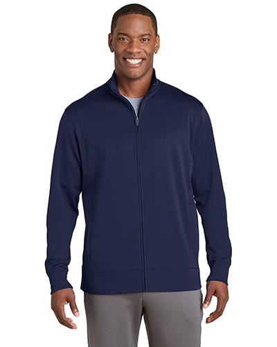 Sport-Tek® ST241 Adult Fleece Full-Zip Jacket at GotApparel