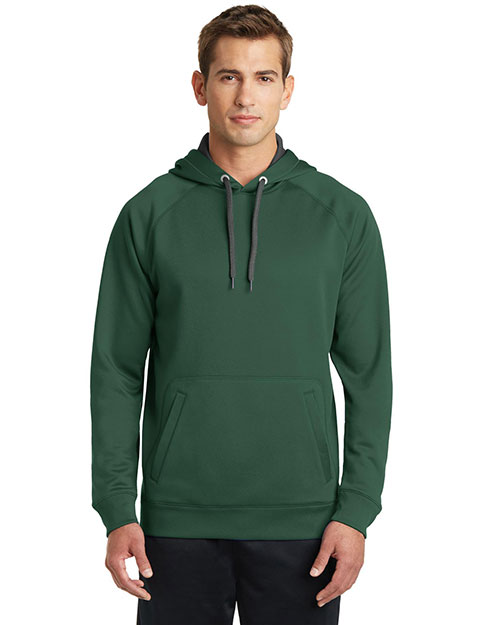Sport-Tek® ST250 Men Tech Fleece Hooded Sweatshirt at GotApparel