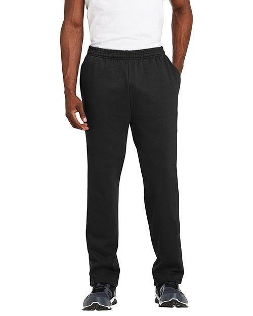 Sport-Tek® ST257 Men Open Bottom Sweatpant at GotApparel