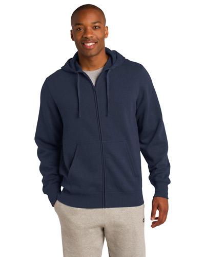 Sport-Tek® ST258 Men Full-Zip Hooded Sweatshirt at GotApparel