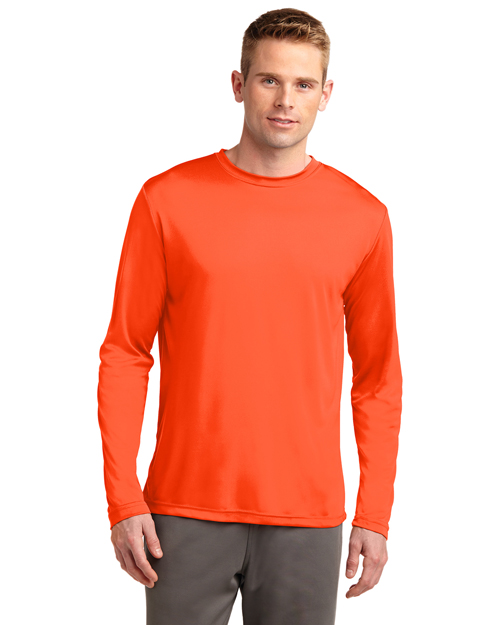 Sport-Tek® ST350LS Men Long-Sleeve PosiCharge®  Competitor  Tee at GotApparel