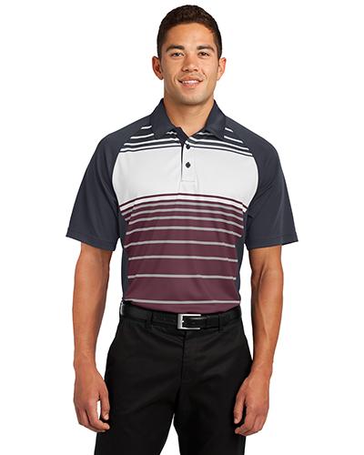 Sport-Tek® ST600 Men Dry Zone Sublimated Stripe Polo at GotApparel