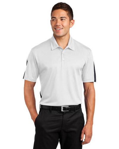 Sport-Tek® ST695 Men PosiCharge®   Active Textured Colorblock Polo at GotApparel