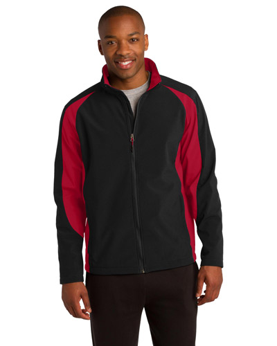 Sport-Tek® ST970 Men Colorblock Soft Shell Jacket at GotApparel