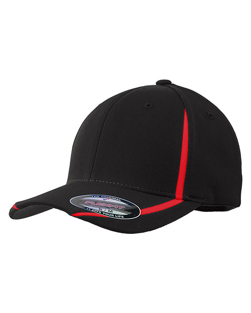 Sport-Tek® STC16 Men Flexfit Performance Colorblock Cap at GotApparel