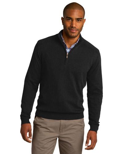 Port Authority SW290 Men 1/2-Zip Sweater at GotApparel