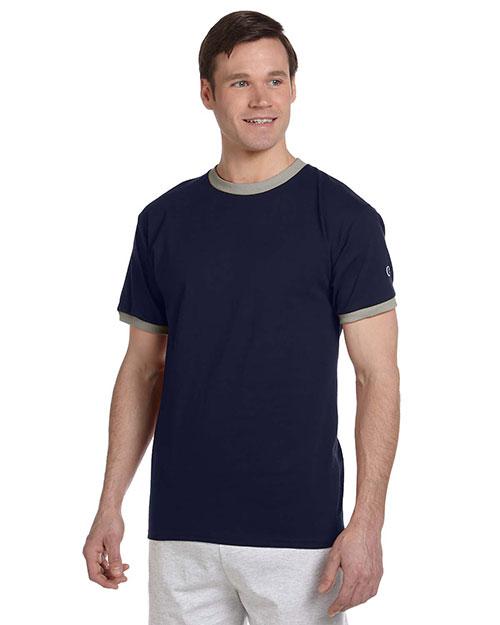 Custom Embroidered Champion T1396 Men 5.2 Oz. Ringer T-Shirt at GotApparel