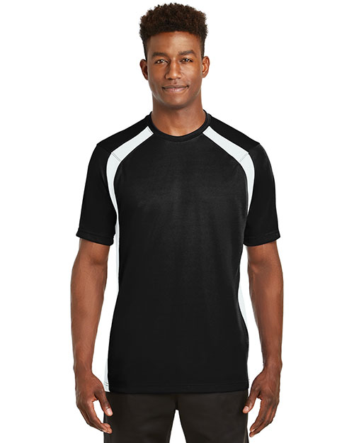 Sport-Tek® T478 Men Dry Zone Colorblock Crew at GotApparel