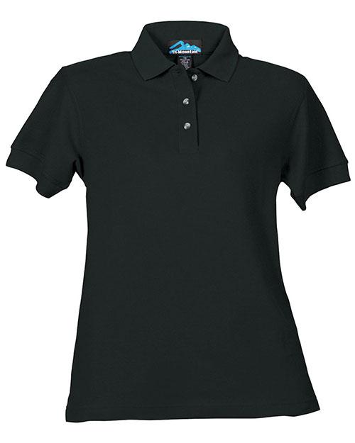Tri-Mountain 166 Women Autograph Cotton Pique Short-Sleeve Golf Shirt at GotApparel
