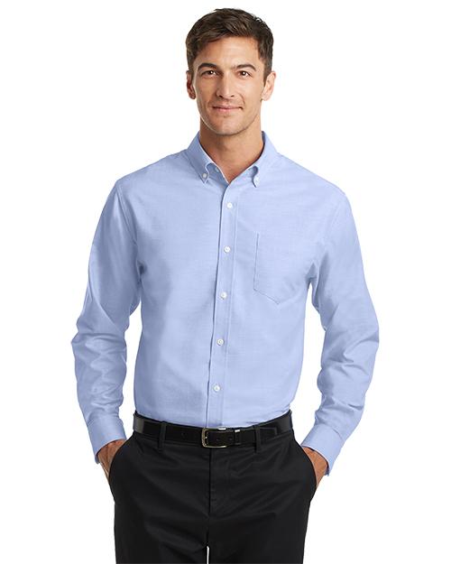 Port Authority TS658 Men SuperPro™ Oxford Shirt      at GotApparel