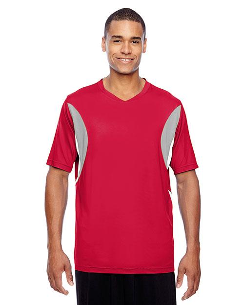Team 365 TT10 Men Short-Sleeve Athletic V-Neck All Sport Jersey at GotApparel
