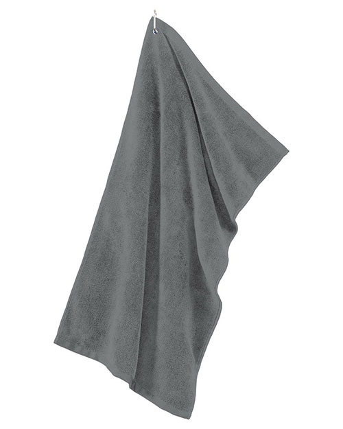 Port Authority TW530 Men Grommeted Microfiber Golf Towel at GotApparel