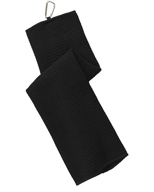 Port Authority TW60 Unisex Waffle Microfiber Golf Towel at GotApparel