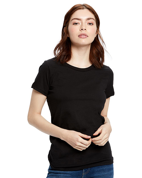 US Blanks US100OR Women Organic Crewneck T-Shirt at GotApparel