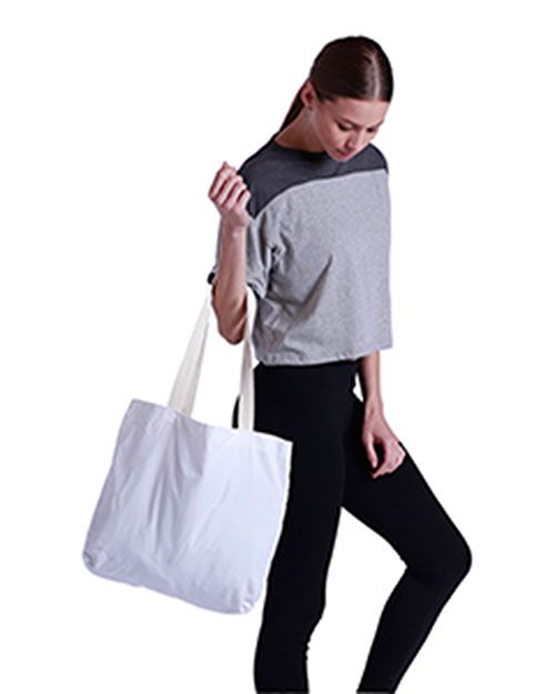 US Blanks US221 Eco Canvas Tote at GotApparel